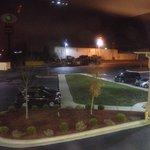 Front entrance/parking lot