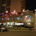 Tiki's Bar & Grill by night
