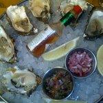 Oysters at Loch Fyne, Kenilworth. Wow....