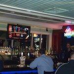 The cozy yet 'fun' bar at Chilis