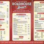 Roadhouse menu