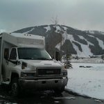 Front Range Ski Bus at Copper Mountain
