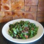 "Grilled ""Bricked"" Rocket Salad"