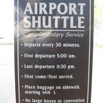 Free Airport Shuttle Service