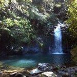 Waterfalls at Cockscomb Jaguar Reserve