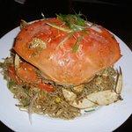 Garlic Roasted Dungeness Crab