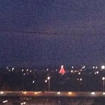we could even see the Zilker Park Tree from our balcony - nice holiday surprise