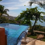 View from pool toward Zihua