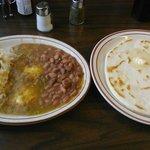 ...thick homemade tortillas
