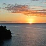 sunset from Zabuco