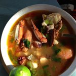 Fish Soup at Las Tres Islas