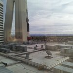 You can see the chapel from the Stratosphere rooms