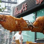 Roasted Whole Pig for Annual Customers' Appreciation Day