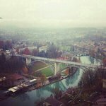the aare, view from the top.