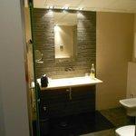 Nice bright bathroom