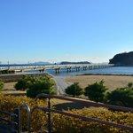 竹島海岸から竹島