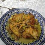Tajine de poulet aux citrons