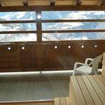 sauna panoramica per adulti