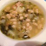 Collard green soup a Cuban classic