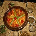 Un repas prèparè avec Hasna
