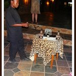 WE RECEIVED A AMARULA EVERY EVENING BEFORE DINNER!