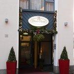 Eingang vom Hotel
