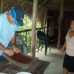 making chocolate the traditional way