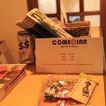 Come Inn card