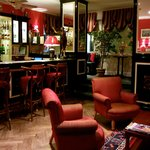 The bar at Hotel St Petersbourg, Tallinn