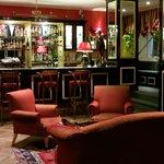 The bar at Hotel St Petersbourg, Tallinn