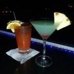 Rum Punch and Infiniti Martini