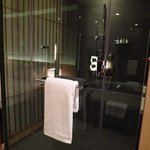 spacious shower room in club room