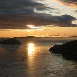 Sunset from Deception Pass Bridge
