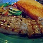 Grilled mahi mahi fish
