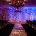 Ceremony in large ballroom