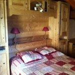 notre chambre côté montagne
