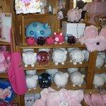 Piggy's souvenirs