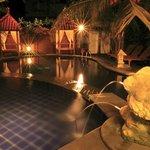 Swimming Pool, taken from restaurant