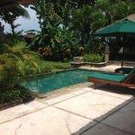 Private pool and garden in Villa no 2