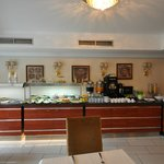 Dining area, Daphne Hotel, Sultanahmet, Istanbul, May 2012