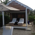 Private Beach Cabana
