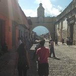 Famous Arch in Antigua.