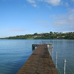 on-site swimming pier