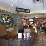 Where the line begins to enjoy Toojay's dining experience