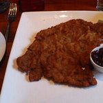 'kleines' schnitzel. I wonder how a big schnitzel looks like