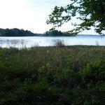 Lake near campground