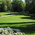 Front lawn of Leonardo Di Vinci's place