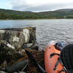 Ideal location for sea kayaking