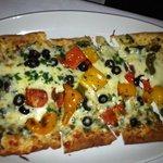 vegetable flatbread