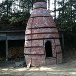 the pottery kiln